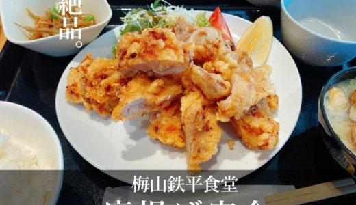 魚の定食が有名な「梅山鉄平食堂」であえて唐揚げ定食を食べる理由